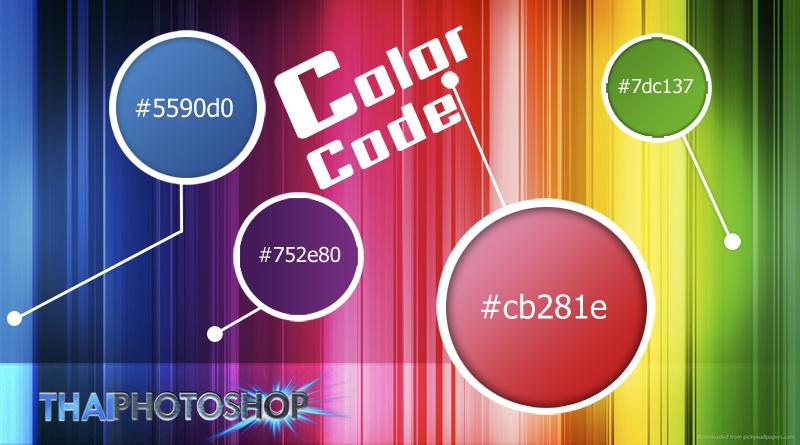 โค้ดสี Code Color