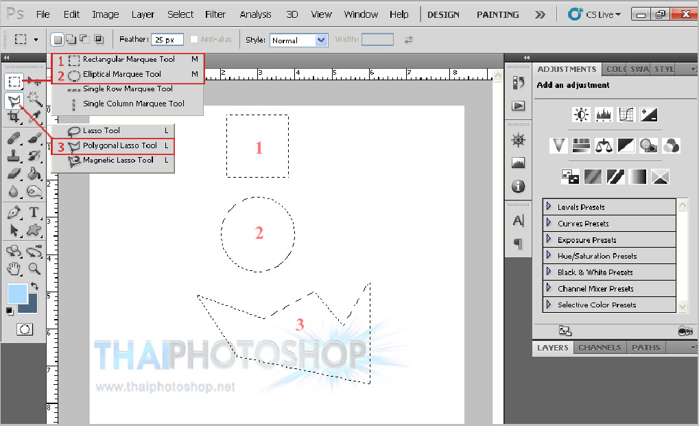 photoshop 3tools